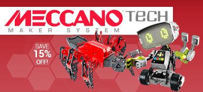 15% off Meccano Tech