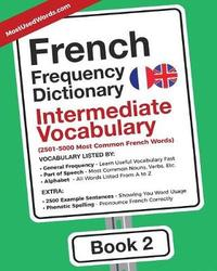French Frequency Dictionary - Intermediate Vocabulary by Mostusedwords