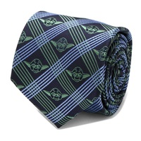 Star Wars: Yoda (Navy) - Modern Plaid Tie