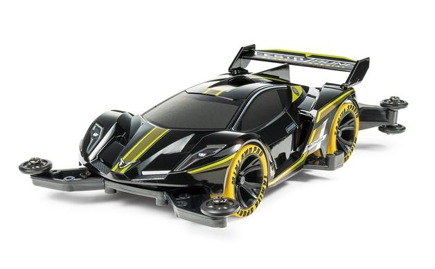 Tamiya: Mini 4WD Festa Jaune Black (Ma) - Scale Model