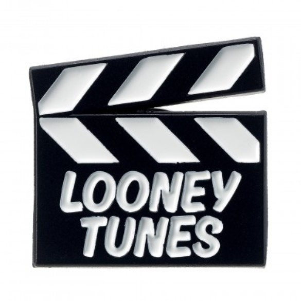 Looney Tunes: Looney Tunes Clapper Board Pin Badge