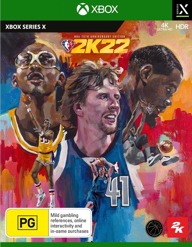 NBA 2K22 75th Anniversary Edition for Xbox Series X
