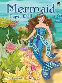 Mermaid Paper Doll by Eileen Miller image