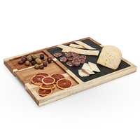 Twine: Rustic Farmhouse - Slate & Wood Appetiser Board