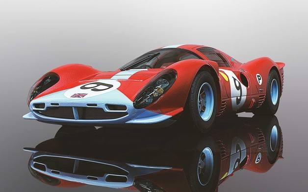 Scalextric: Ferrari 412P No.9 - Brands Hatch 1967