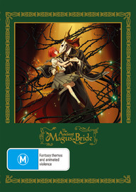 The Ancient Magus Bride: Part 1 on DVD, Blu-ray