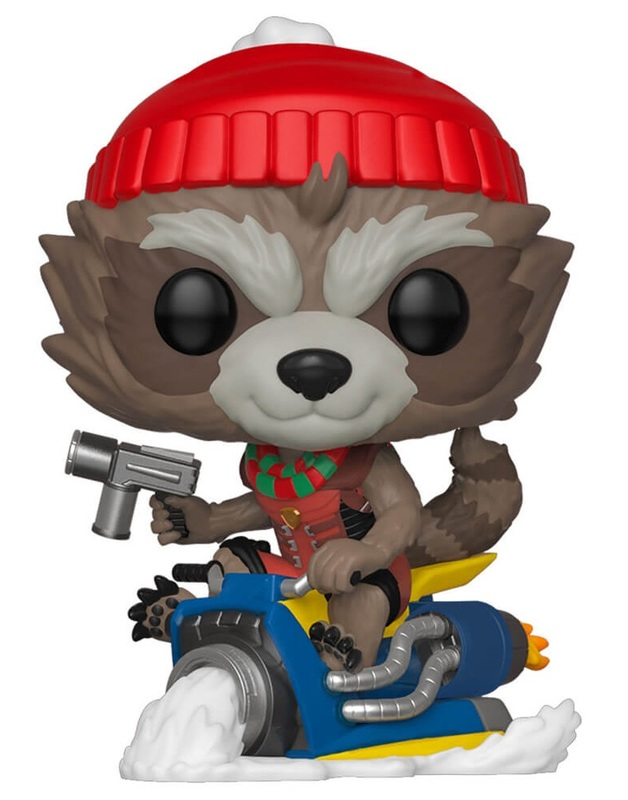 Marvel: Holiday Rocket Raccoon - Pop! Vinyl Figure