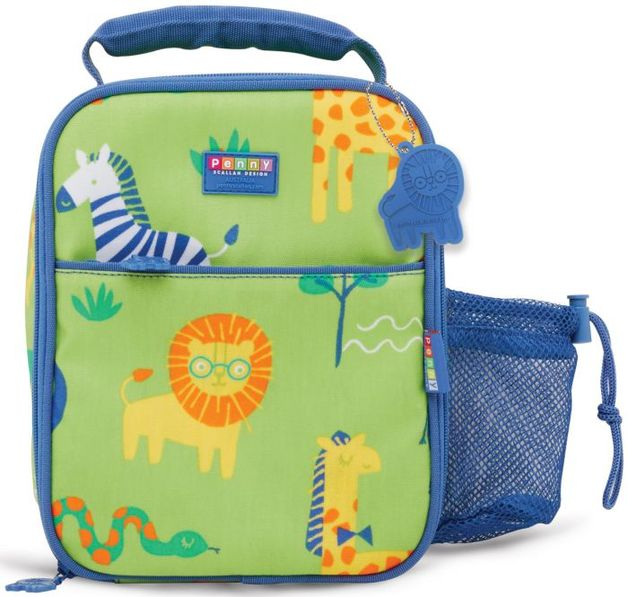 Penny Scallan: Wild Thing Bento Cooler Bag with Pocket