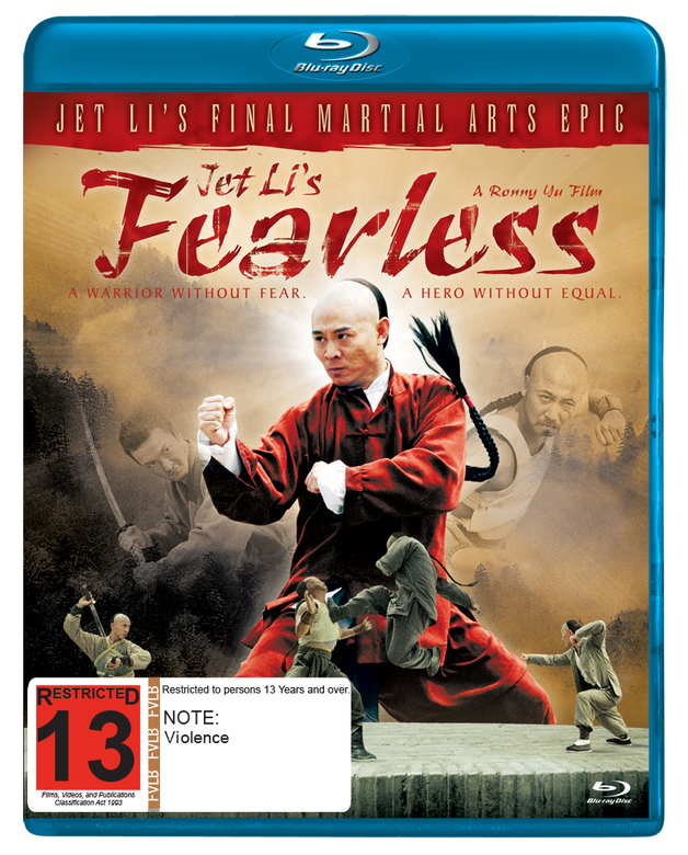 Jet Li's Fearless on Blu-ray