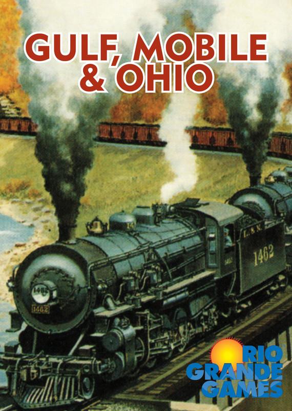 Gulf, Mobile and Ohio - Board Game