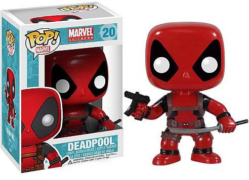 Marvel Deadpool Pop! Vinyl Bobble Head Figure