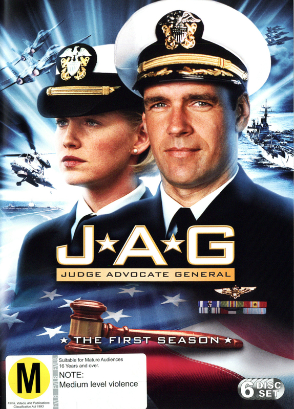 JAG: Judge Advocate General - The 1st Season on DVD
