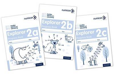 Numicon: Number, Pattern and Calculating 2 Explorer Progress Books ABC (Mixed pack) image