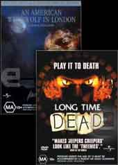 Long Time Dead and An American Werewolf in London on DVD