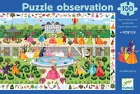 Djeco: 100pc Puzzle - Garden Party