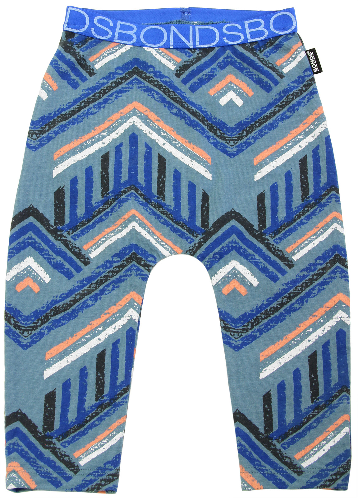Bonds Stretchy Leggings - Surf Tribe (3-6 Months) image