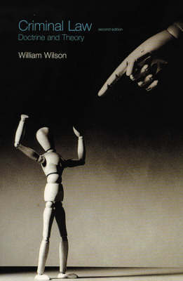 Criminal Law by William Wilson image