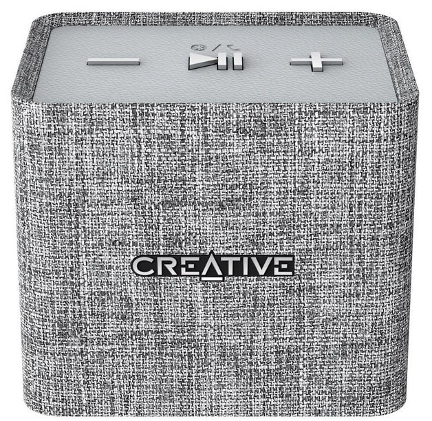 Creative Nuno Micro Designer Cloth Bluetooth Speaker - Grey