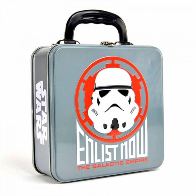 Star Wars: Tin Tote (Embossed) (Stormtrooper Icon)
