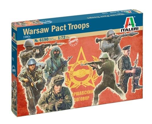 Italeri: 1/72 Warsaw Pact Troops - Model Kit