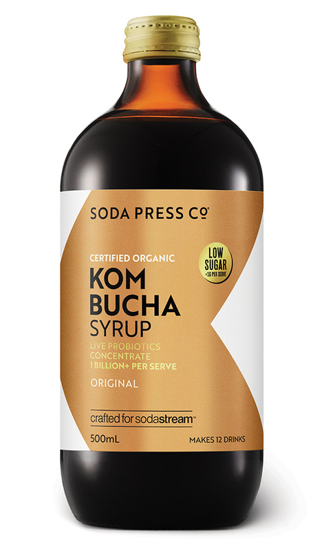 Soda Press: Organic Kombucha Syrup