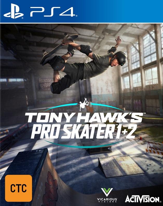 Tony Hawk's Pro Skater 1 & 2 for PS4