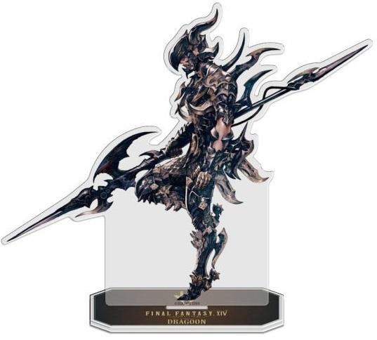 FINAL FANTASY XIV: Dragoon - Acrylic Job Stand