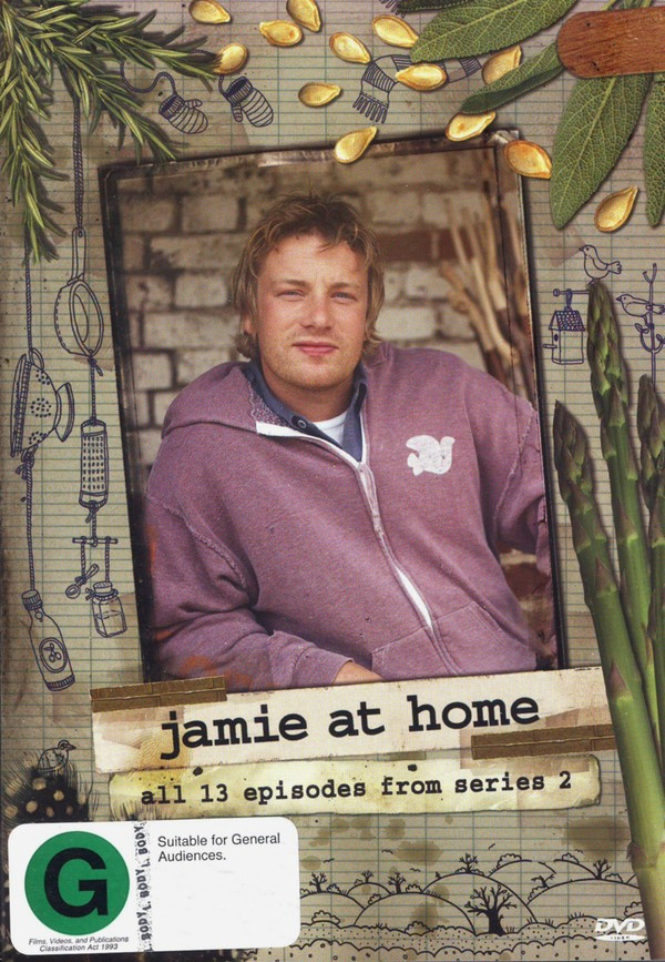 Jamie At Home - Series 2 (2 Disc Set) on DVD image