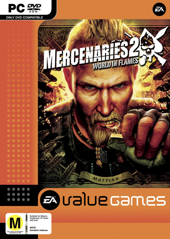 Mercenaries 2: World in Flames (Value Game) for PC Games