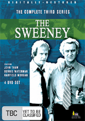 Sweeney, The - Complete Series 3 (4 Disc Box Set) on DVD