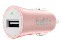 Belkin-Mixit Up: Metallic Car Charger - Rose Gold