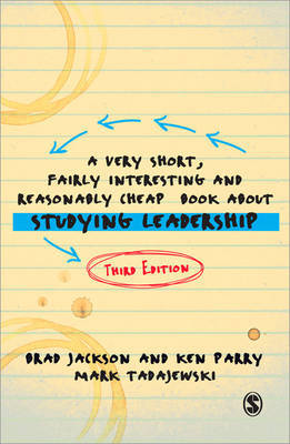 A Very Short, Fairly Interesting and Reasonably Cheap Book about Studying Leadership by Brad Jackson image