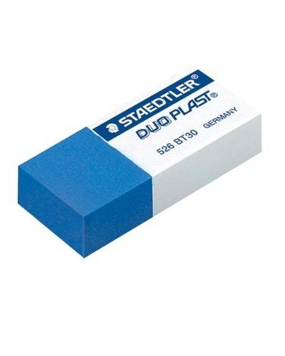 Staedtler 526BT30 Duo Eraser for Ink & Pencil