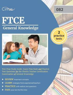 FTCE General Knowledge Test Prep Study Guide by Ftce Gk Exam Prep Team image