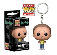 Rick & Morty - Morty - Pocket Pop! Keychain