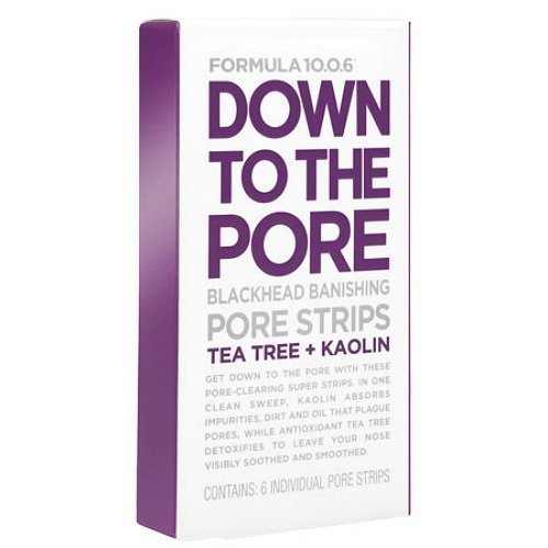 Formula 10.0.6 - Down To The Pore Blackhead Strips