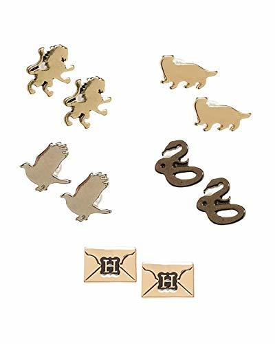 Harry Potter 5 Pack House Symbols/Envelope Post Earring