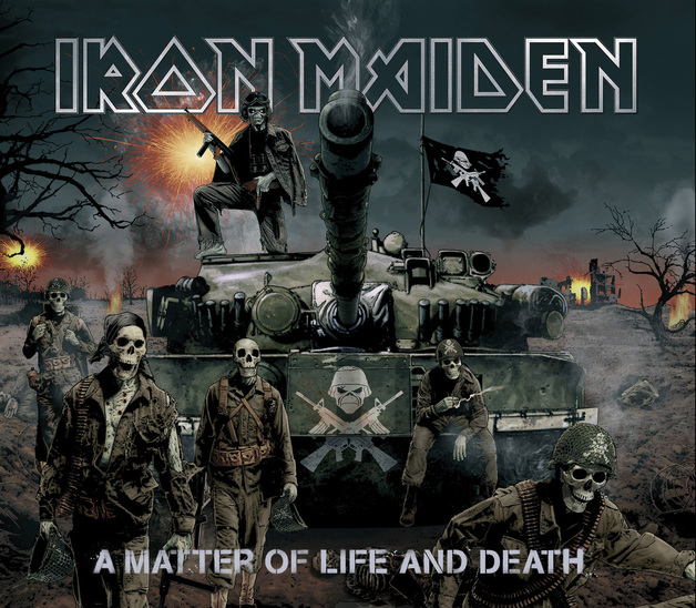 A Matter Of Life An Death (Digipak) by Iron Maiden