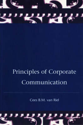 Principles Corporate Communication by Cees Van Riel image