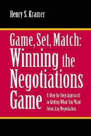 Game, Set, Match by Henry S. Kramer image