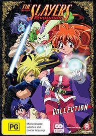 Slayers Revolution - Series 4 on DVD