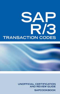 SAP R/3 Transaction Codes | Terry Sanchez-Clark Book | In