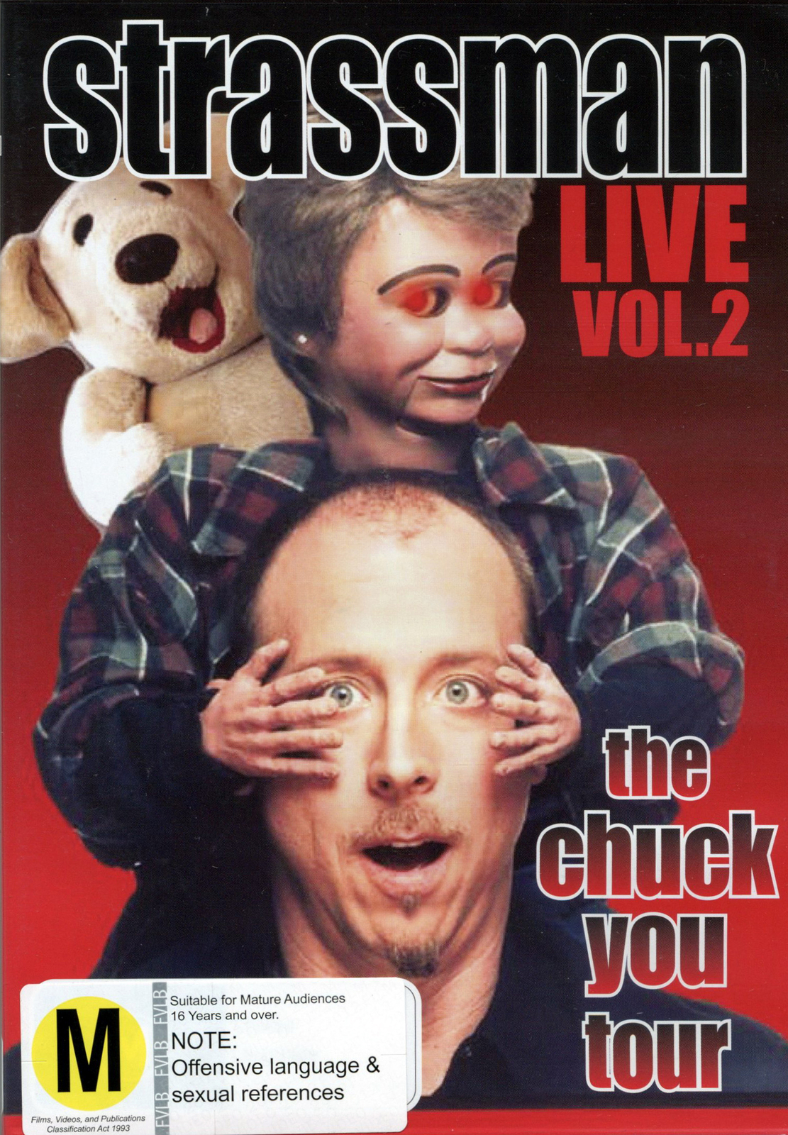 Strassman Live - Vol. 2: The Chuck You Tour on DVD image