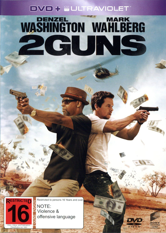 2 Guns on DVD