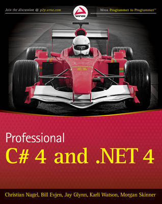 Professional C# 4.0 and .NET 4 by Christian Nagel image
