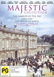 The Majestic Collection - Remains Of The Day / Jane Eyre / The House of Mirth on DVD