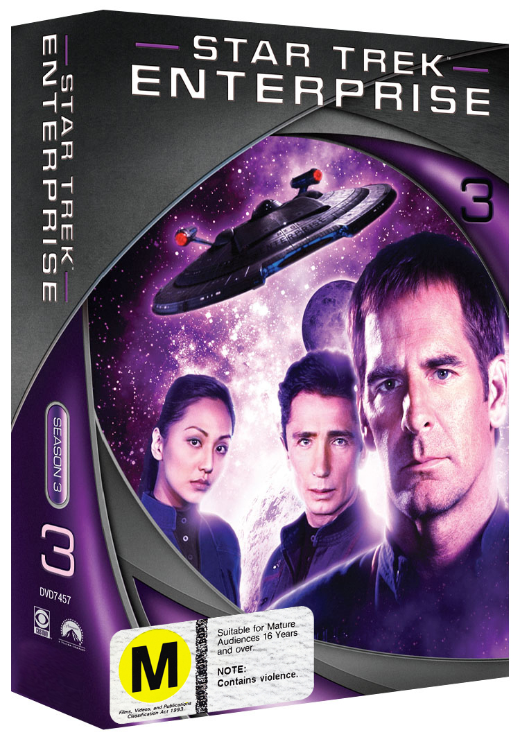 Star Trek: Enterprise - Season 3 (New Packaging) on DVD image