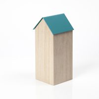Block Design: Storage House Desk Caddy (Large Blue)