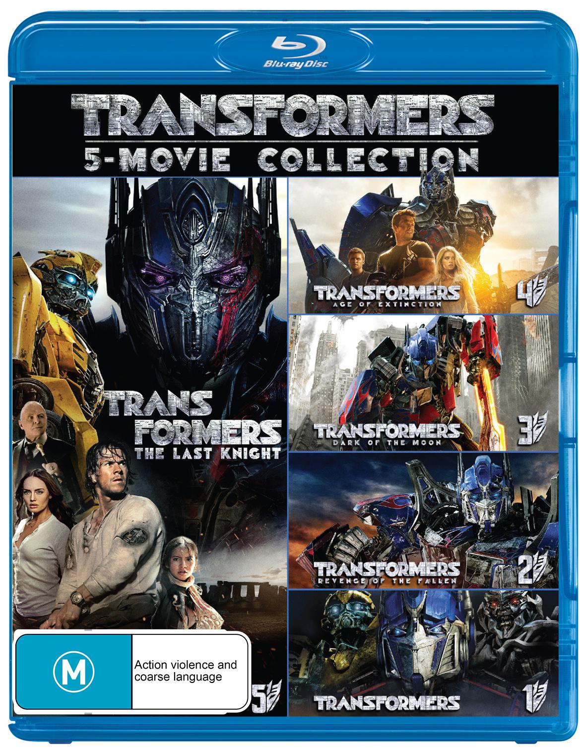 Transformers - 1-5 Boxset on Blu-ray image