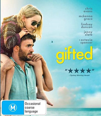 Gifted on DVD image